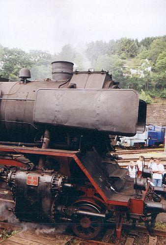 Damplok 50 3610 - 8 im Juni 2003 im Museum Dieringhausen 50_0210