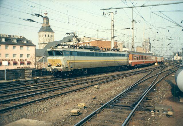 E-Lok CC 1801 der SNCB - Belgien Cc_18010