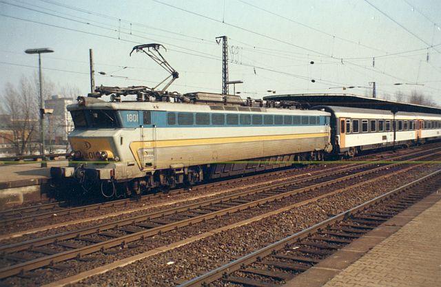 E-Lok CC 1801 der SNCB - Belgien Cc_18012