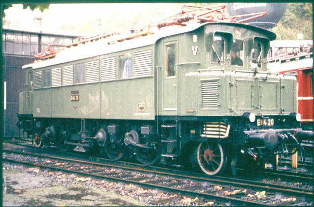 Die E-Lok Baureihe 104 / E04 der DB E_04_213