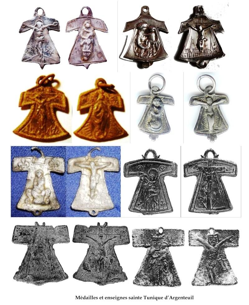 Cruz de tau   ( o Santa Camisa de la Virgen) Argent10