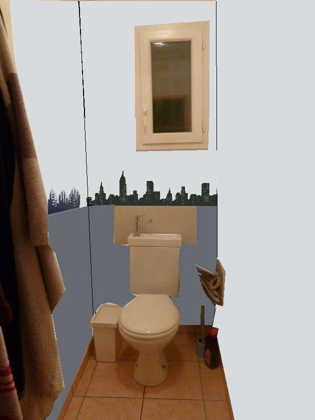 Idée simple de déco pour des WCs Prop310