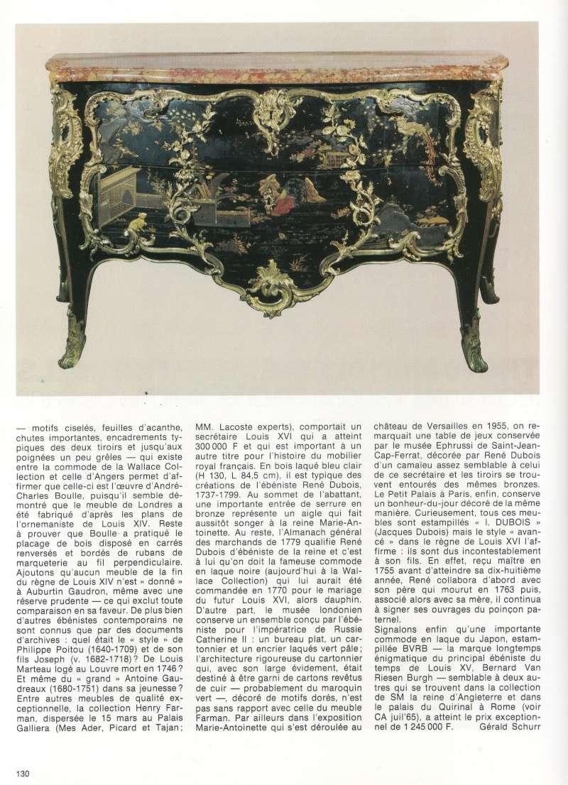 La restauration d'un bureau d'A-C Boulle au Louvre-Lens Commod10