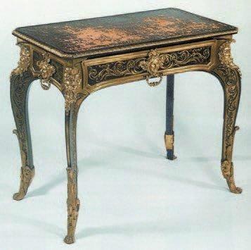 La restauration d'un bureau d'A-C Boulle au Louvre-Lens Table_10