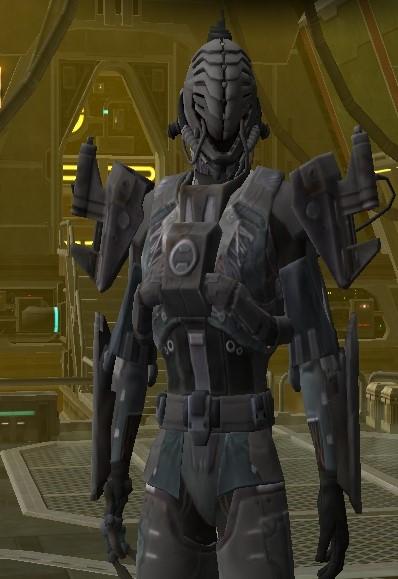 Pangde, le Sith Chasseur de Prime Cyborg10