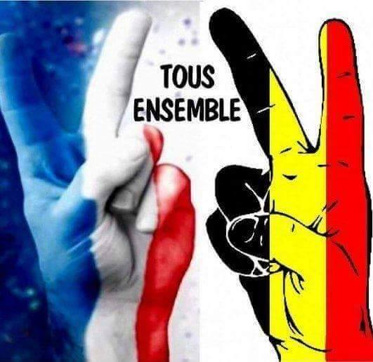 pensée à nos amis belges 12243010