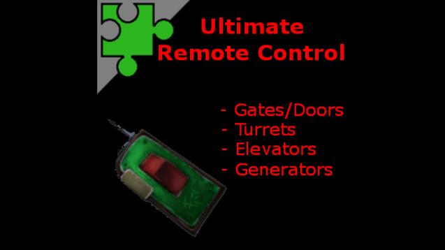 Retrouvez ici la liste des mods Remote10