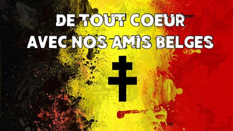 Soutien pour Nos amis Belges 14507810