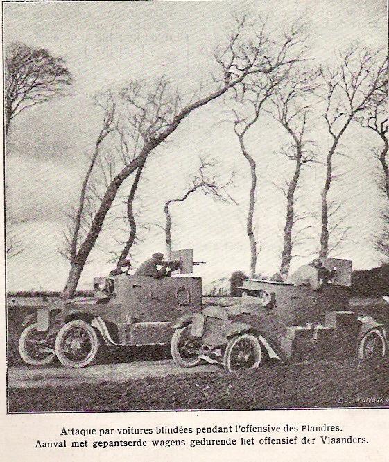 Les Belges sur le Front de l'Est WWI Automg10