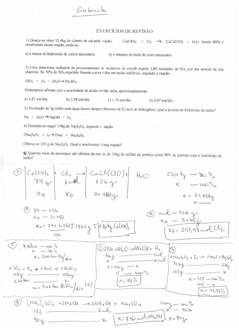 [EXERCÍCIOS] Resolução dos ex. de aula Correa11