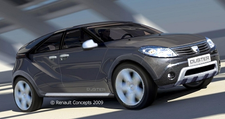 2009 - [Dacia] Duster Concept - Page 3 Duster10