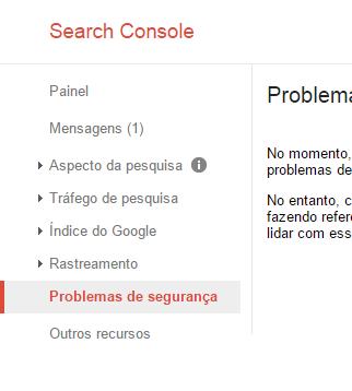 """""""Software malicioso"""": Problema de segurança relatado pelo Google Untitl10"""
