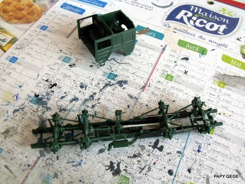 MAN M.A.T.S. base REVELL au 1/72 en scratch. Final  01-6-d10