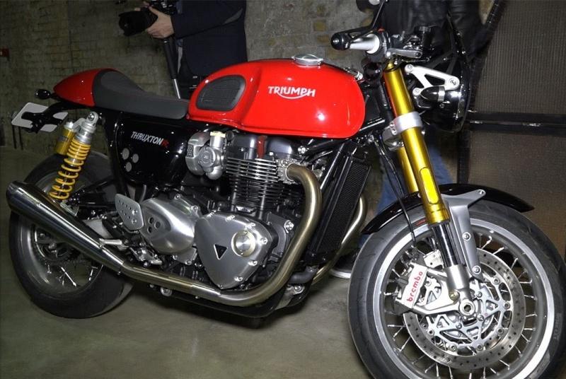 Nouvelles Thruxton 1200 / 1200R Rouge210