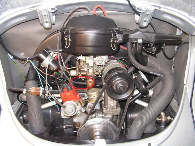 Filtre à air  les tuyaux  Moteur10