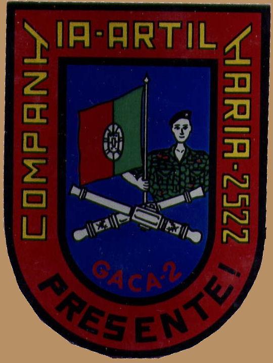 Faleceu o veterano Manuel Gargalo Paulino, Furriel Mil.º de Artilharia, da CArt2522 - 16Fev2016 Cracha10