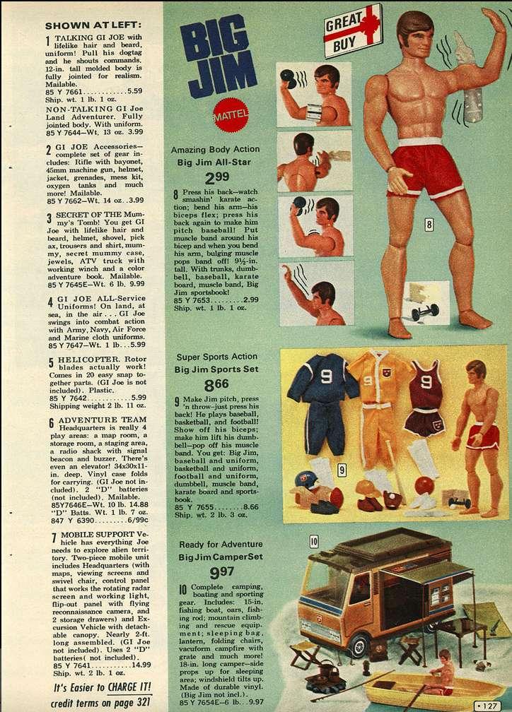 PUBBLICITA' E PREZZI VINTAGE (Big Jim e non solo) 1972_a10