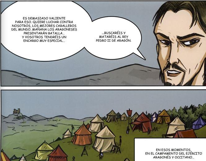 Comic Jaime el Conquistador Jaime410