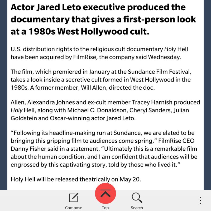 "Jared - producteur exécutif de ""Holy Hell"" docu pour Sundance  Img_2012"