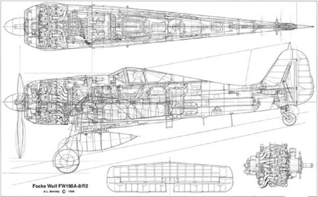 Construction du Fockewul 190 de Karl Achenbach - Page 4 Fw190a10