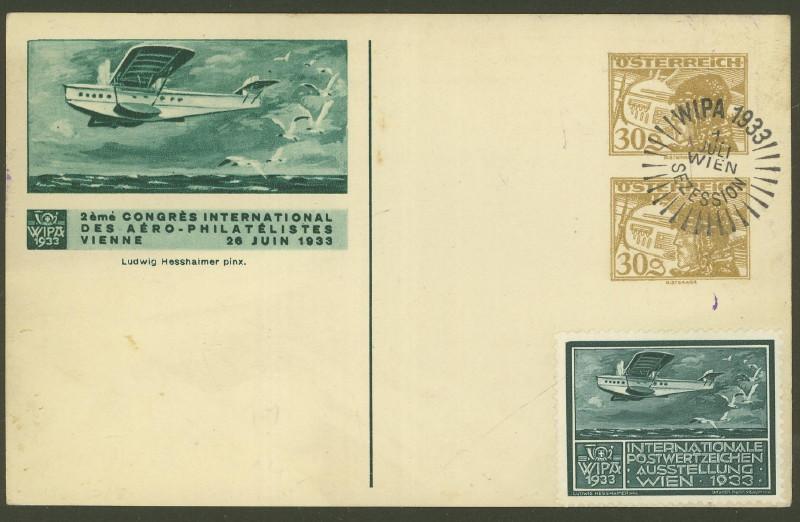 Privatganzsachen zur WIPA 1933 Fp_12_10