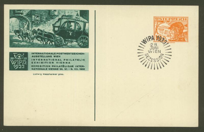 Privatganzsachen zur WIPA 1933 Fp_1_111