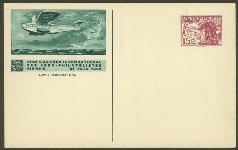 Privatganzsachen zur WIPA 1933 Fp_2_111