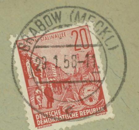 Mecklenburg - Ortsstempel aus Mecklenburg-Vorpommern - Seite 2 Grabow10