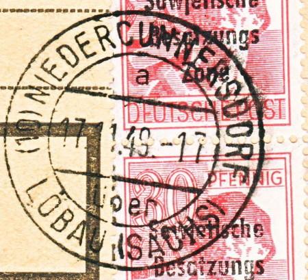nach - Deutschland  -  Landpoststempel (Poststellenstempel) - Seite 2 Nieder10