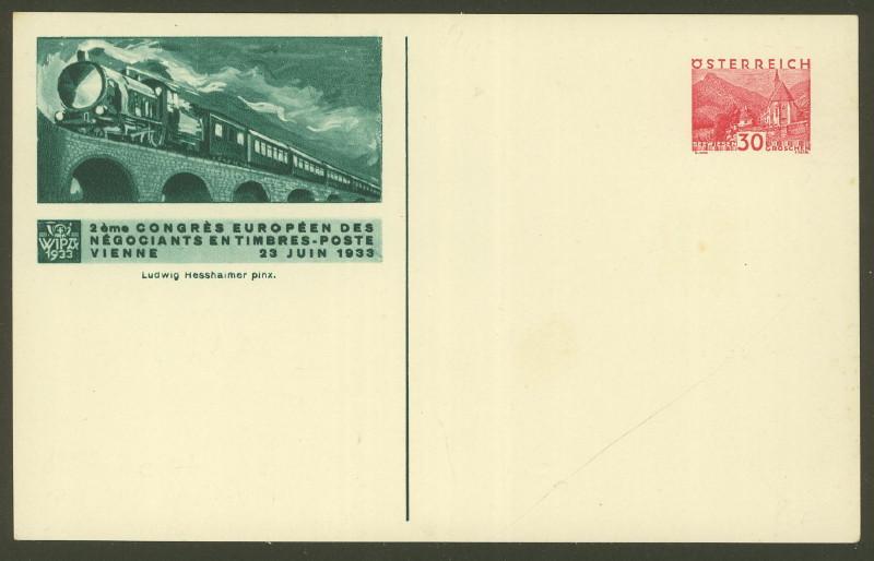 Privatganzsachen zur WIPA 1933 Pp_11311