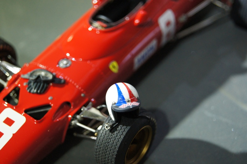 Ferrari 312 F1, GP d'Angleterre, 1967 Chris Amon Dsc08821