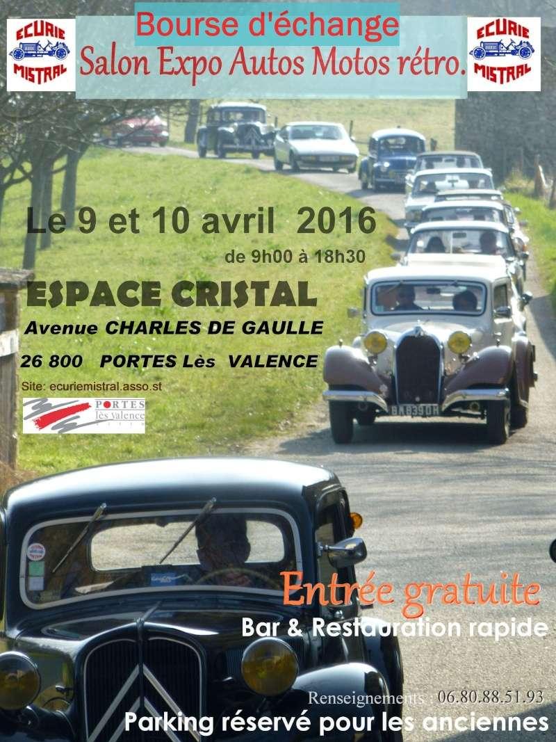 [26] 09 et 10/04/2016 - Bourse salon expo à Portes-les-Valen Affich10