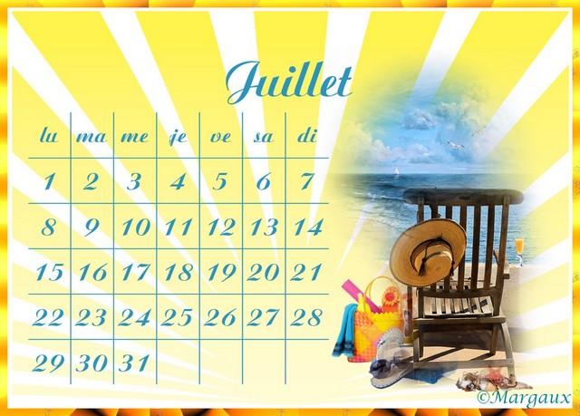 Calendriers de Margaux ..pour Accueil   - Page 18 Juille12