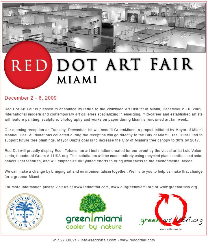 """NUNZIANTE AL """"RED DOT ART FAIR"""" di MIAMI - DICEMBRE 2009 2009_110"""