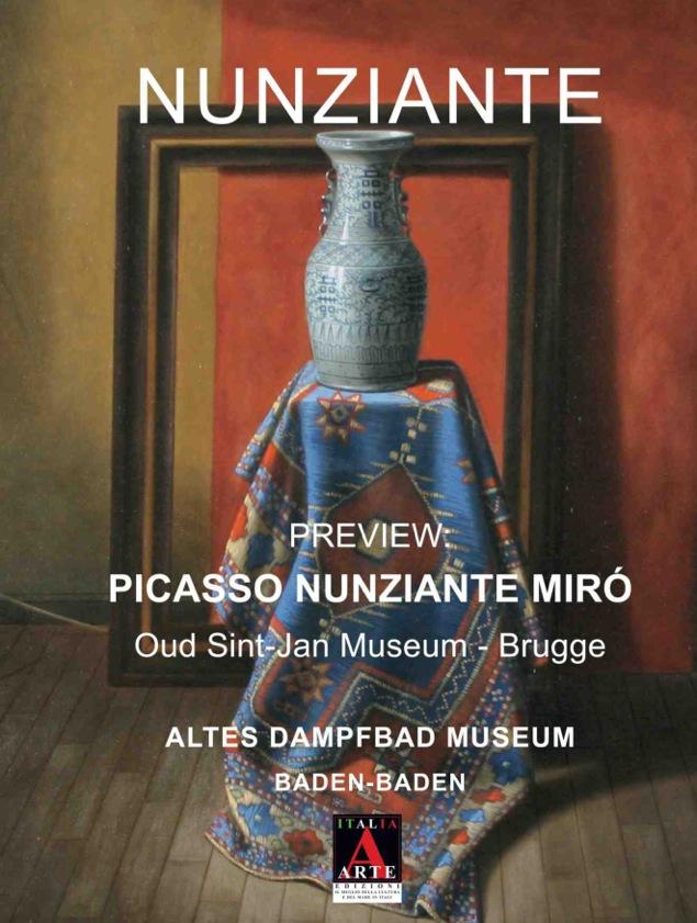 """Preview """"Picasso - Mirò - Nunziante"""" 05-12 Marzo 2016 Baden Baden (D) Copert10"""