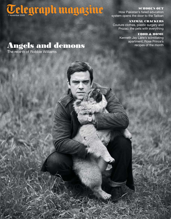 Robbie Interview In Telegraph Magazine - 7th Nov '09 Telegr10