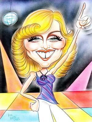 Les caricatures - Page 2 Madonn10