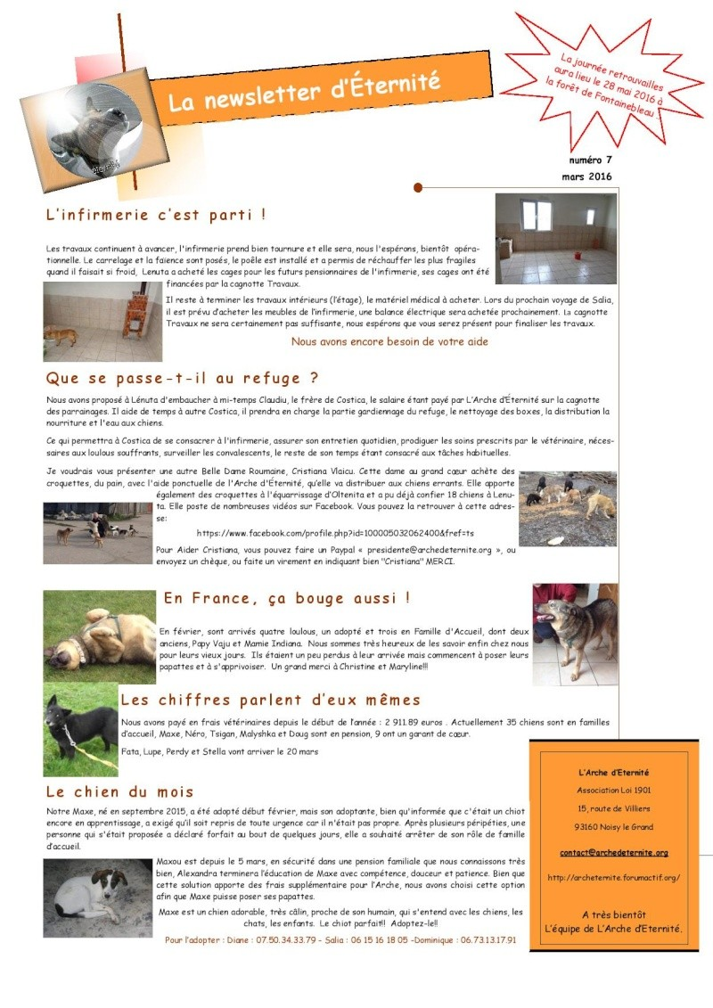 LA NEWSLETTER D'ETERNITE MENSUELLE 2016_022