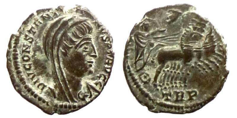 Nummi de consécration - Constantin I  0641910