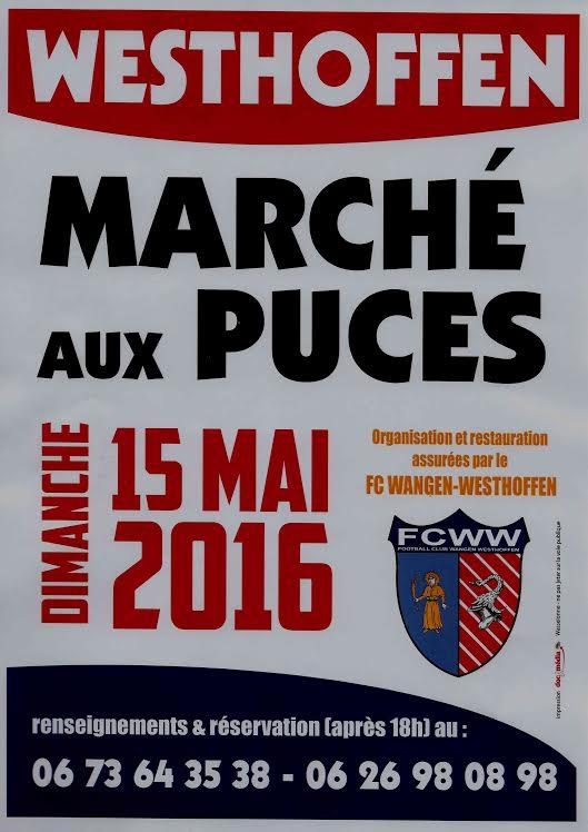 Marché aux puces du 15 mai 2016 à Westhoffen 51294110