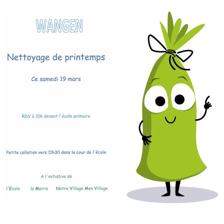 Nettoyage de printemps (Osterputz) à Wangen samedi 19 mars à 10h 994f0510