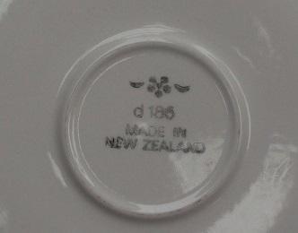 d185 plain Clover glazed saucer Dscf2721