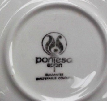 So Crown Lynn did import dinnerware from China or Spain? Pontes11