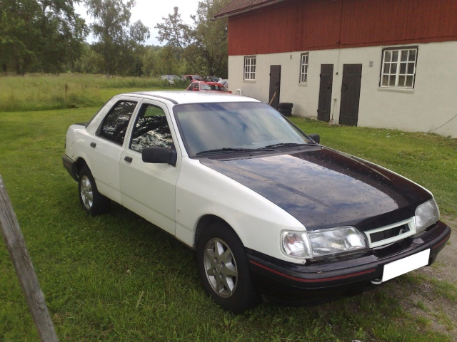 """Eriksson - Ford Sierra Turbo -88  """"The End""""  eller hittar jag en ny kaross?  - Sida 4 20090726"""