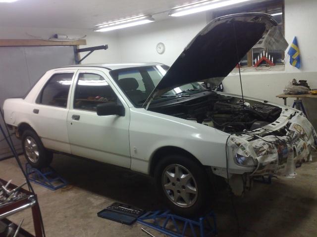 """Eriksson - Ford Sierra Turbo -88  """"The End""""  eller hittar jag en ny kaross?  - Sida 5 20090815"""