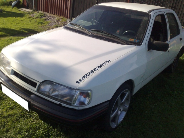 """Eriksson - Ford Sierra Turbo -88  """"The End""""  eller hittar jag en ny kaross?  - Sida 5 20090819"""