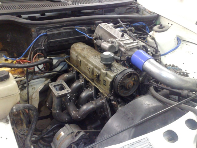 """Eriksson - Ford Sierra Turbo -88  """"The End""""  eller hittar jag en ny kaross?  - Sida 6 20091031"""