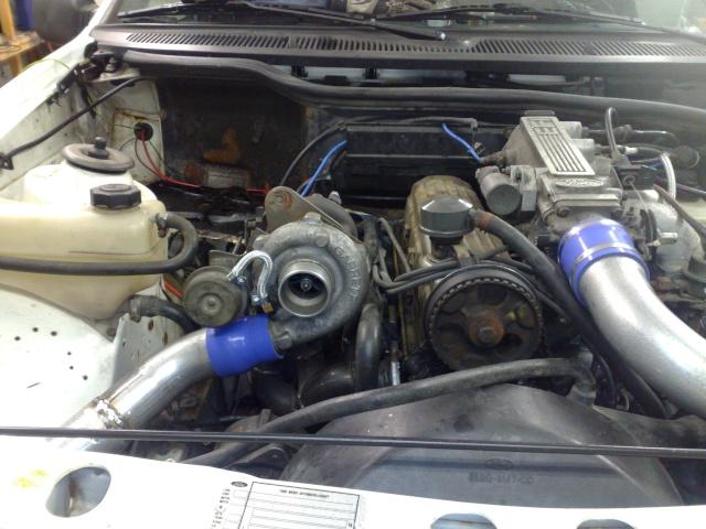 """Eriksson - Ford Sierra Turbo -88  """"The End""""  eller hittar jag en ny kaross?  - Sida 7 20091113"""