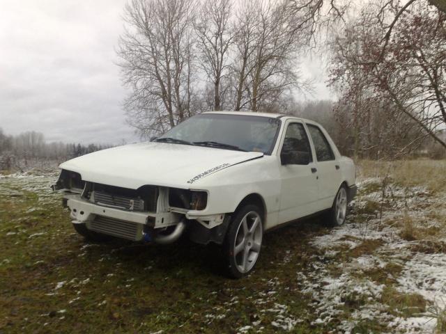 """Eriksson - Ford Sierra Turbo -88  """"The End""""  eller hittar jag en ny kaross?  - Sida 7 20091118"""
