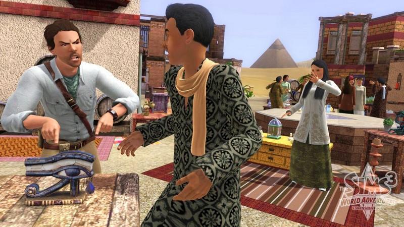 Les Sims 3 : 1er addon : Destination Aventure 96420110